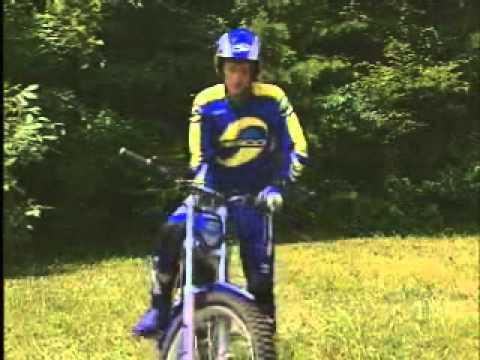Szkoła Trial – Postawa na motocyklu i skręcanie