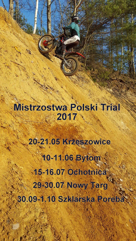 Mistrzostwa Polski i Puchar Polski Trial 2017