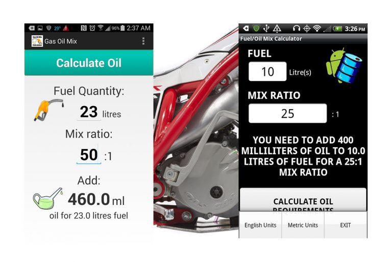 Mieszanie oleju z paliwem dla silników 2T
