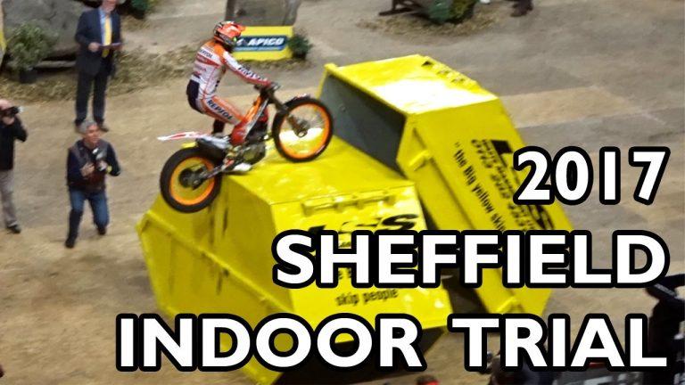 Sheffield Indoor Motorbike Trials 2017