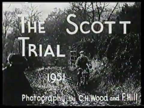 Trial Motocyklowy – Początki lat 50'tych