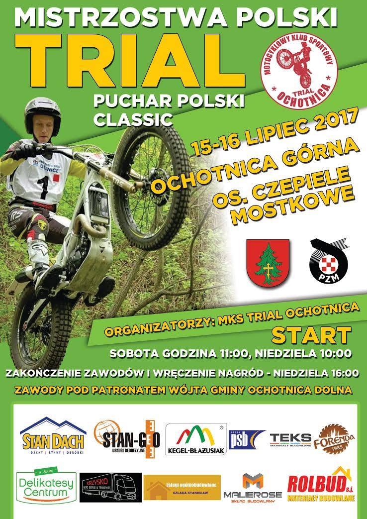 Mistrzostwa i Puchar Polski w trialu motocyklowym – Ochotnica Górna