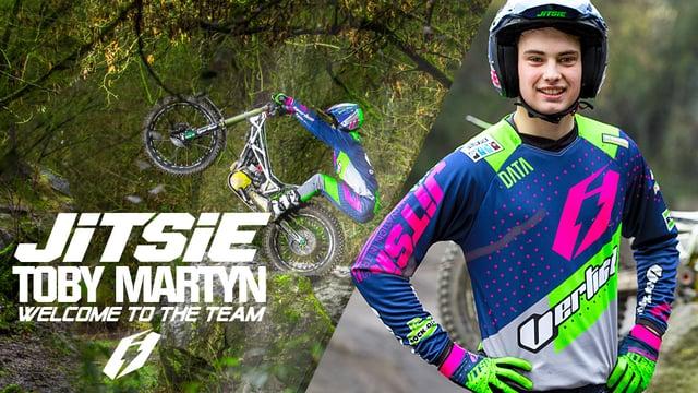 Toby Martyn w teamie Jitsie
