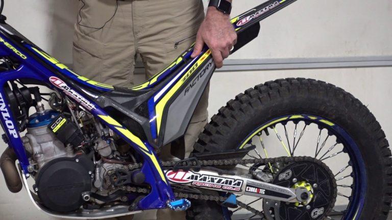 Trial Motocyklowy – ustawienie zawieszenia